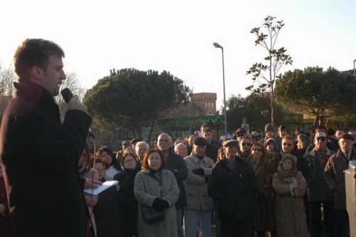 11 febbraio 2006 - Seconda manifestazione a via Capasso